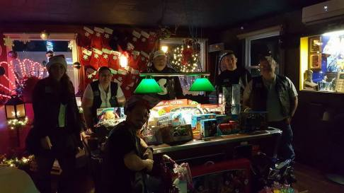 Toys for Tots at MJ's Tavern